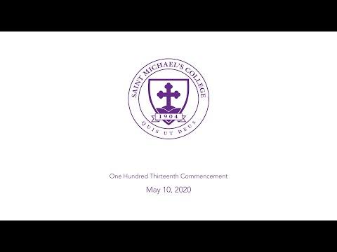 Saint Michael's College Commencement 2020