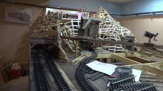 Model railroad Coal mine for U&B RR