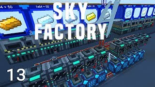Sky Factory 4 Amber Automation and Massive Mulch Upgrade