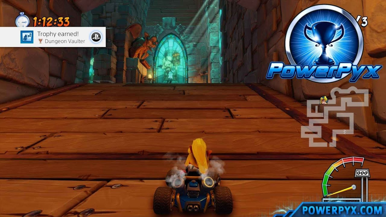 Crash Team Racing Nitro-Fueled Trophy Guide & Roadmap