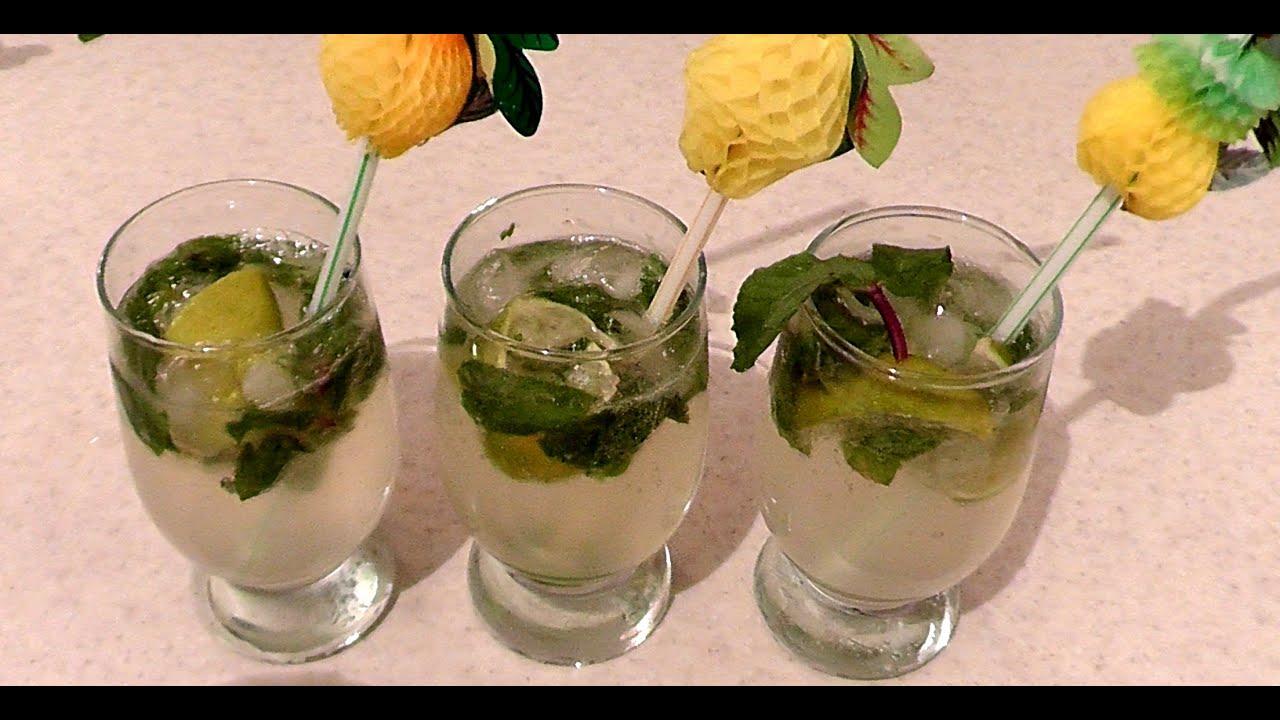 Домашнее мохито безалкогольный рецепт