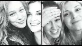 alycia debnam carey and eliza taylor best friends