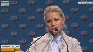 Vorstellungsrede von Doris v. Sayn-Wittgenstein auf dem Bundesparteitag der AfD 2017
