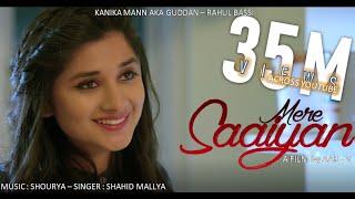 Download Mere Saaiyan (Official Song) Shahid Mallya | Kanika Mann | Shourya | Latest Love Songs 2018 Mp3 and Videos