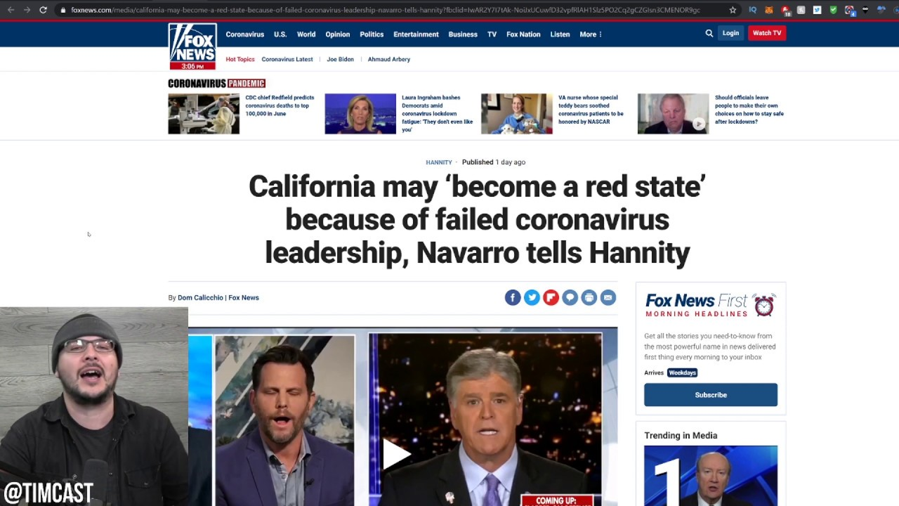 California May Become A Red State over Failed Lockdown Orders??! Look At The UK, Its Possible