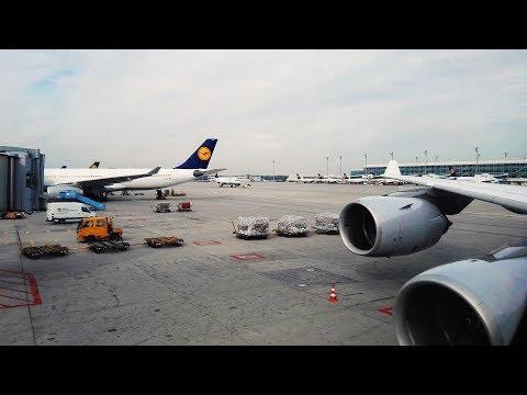 Trip Report | Lufthansa Business Class A340-600 | First Class Surprise | Munich Airport To Incheon