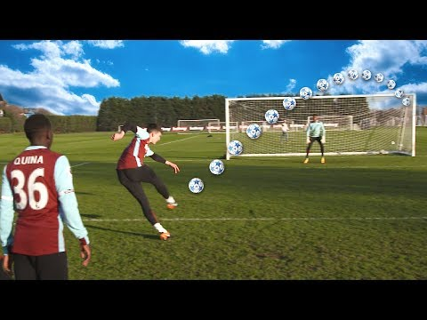 SHOOTING TRAINING WITH WEST HAM UNITED PROS | F2FREESTYLERS