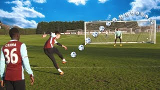 F2FREESTYLERS | SHOOTING TRAINING WITH WEST HAM UNITED PROS