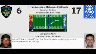 week 14 hyrule legends 3 10 melbourne uni royals 6 7