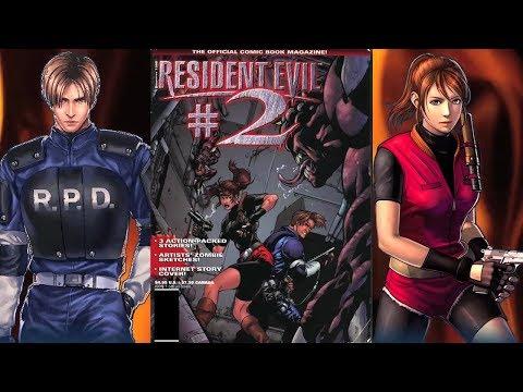 Resident Evil 2 - The Lost Web Comic | Leon/Claire Scenario A/B Story