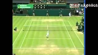 テニス 歴史に残る試合 ウィンブルドン2005