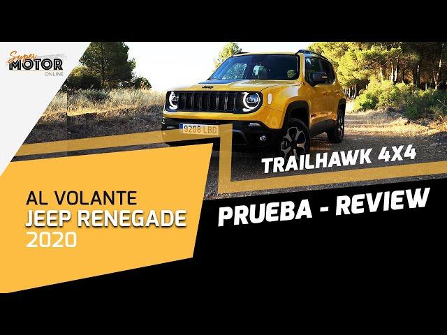 Al volante del Jeep Renegade 2020 / Review Jeep Renegade Trailhawk / SuperMotor.Online / T5 - E18