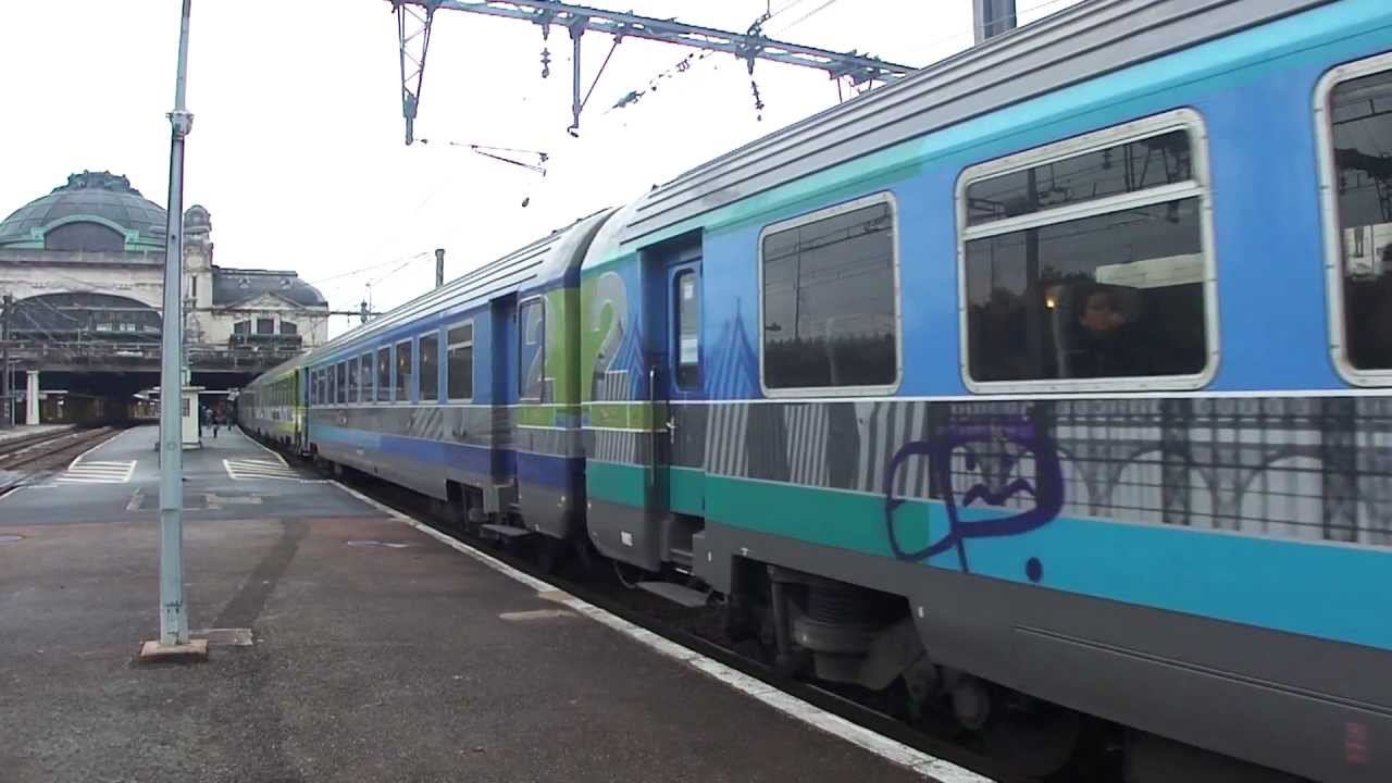 Intercit s train paris austerlitz cerb re at limoges for Train tours paris austerlitz