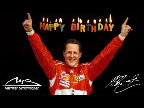 Michael Schumacher Tribute - Happy 50th Birthday