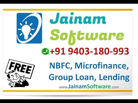 NBFC Software | Banking Collection Finance Software | Jainam Software Free Download
