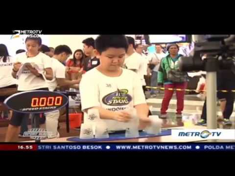 WSSA Indonesia Sport Stacking Championships 2016 [SportMagz Metro TV]