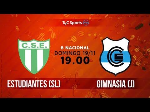 Primera B Nacional: Estudiantes (SL) vs. Gimnasia (J)   #BNacionalenTyC