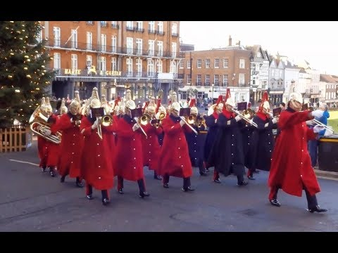 Changing the Guard at Windsor Castle - Saturday the 16th of December 2017