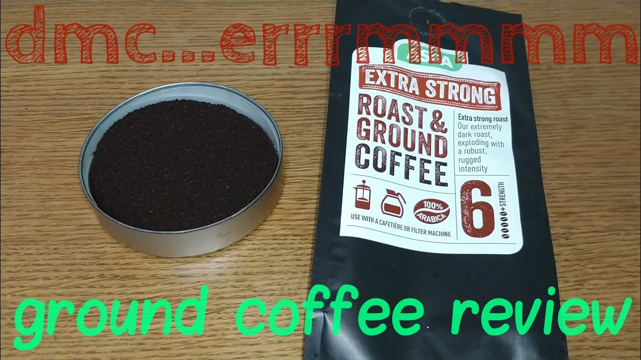 Asda Extra Strong Roast Ground Coffee Review