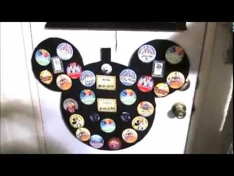 Disney button poster frame diy do it yourself project home made make disney button poster frame diy do it yourself project home made make it buttons disneyland world solutioingenieria Gallery