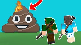 QUEBREI TODOS OS EMOJIS NO ROBLOX!! (Destruction Simulator)