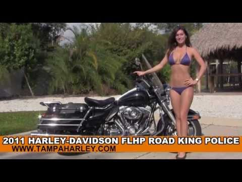 Used 2011 Harley Davidson Road King Police Motorcycle for sale