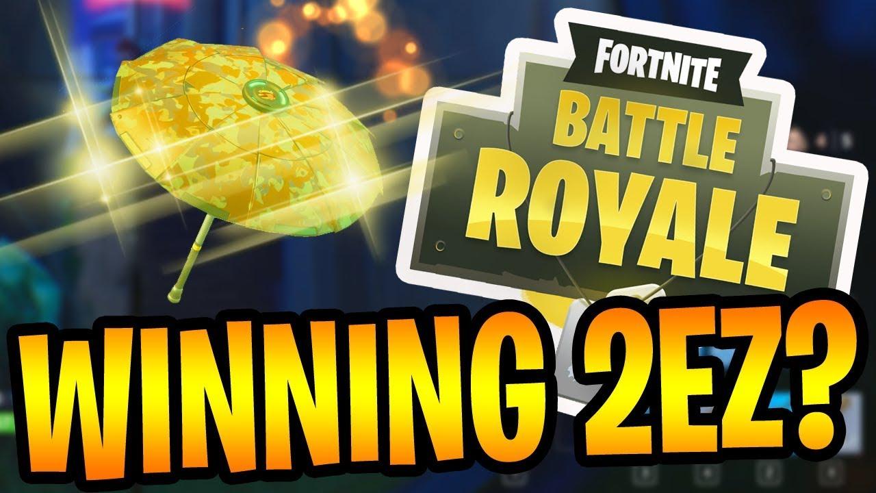 WINNING 2EZ? - Fortnite Battle Royale Gameplay