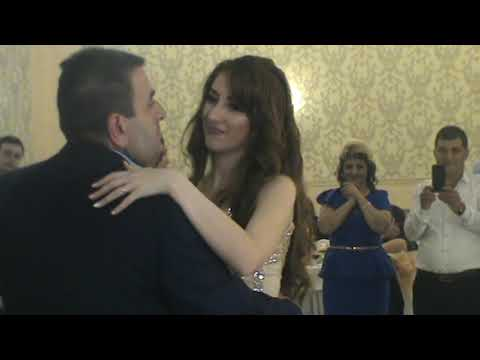 Лиана Сафарян (Мой Отец ) на сватовстве у сестры Лусине-танец невасты с папой.