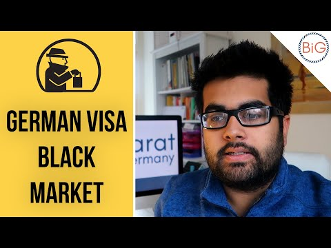 The Growing Black Market for Visa Appointments for Germany
