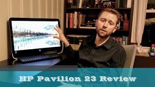 HP Pavilion 23 ( p010 ) Touchscreen All-in-One PC Review