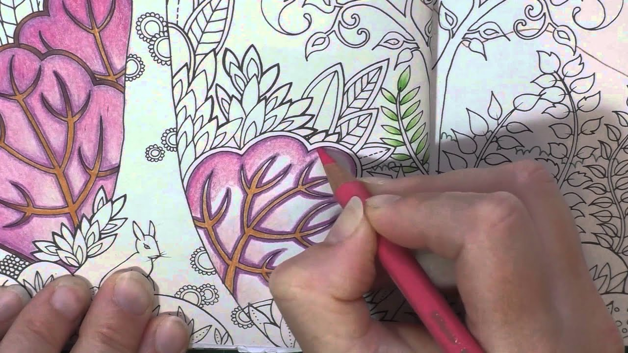 Colouring Tutorial Pencil Blending And Choosing Colours Chat Enchanted Forest