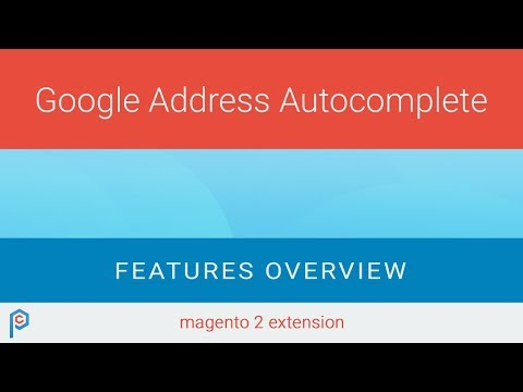 Google Address Autocomplete - Magento 2 extension