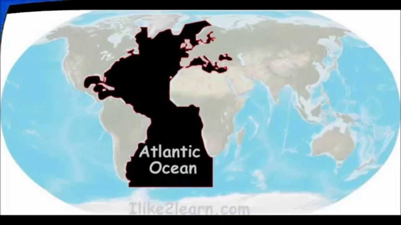 How many oceans on Earth 40