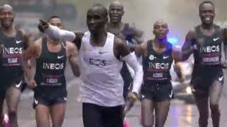 How Eliud Kipchoge Ran A 1:59 Marathon