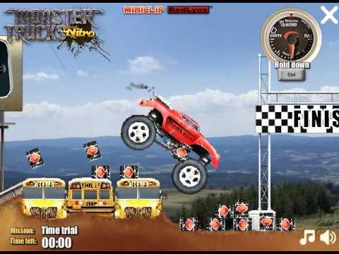 Extreme Let S Play Minisode Monster Trucks Nitro Youtube