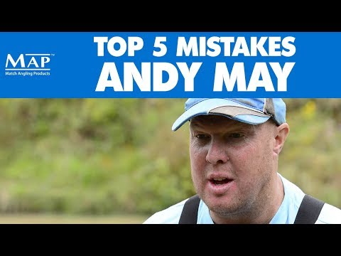 Top 5 Beginners Mistakes In Match Fishing - Andy May