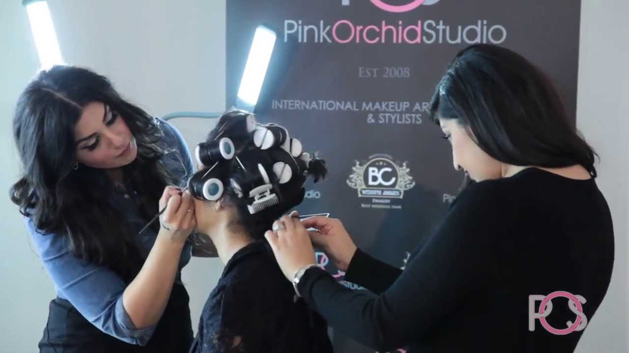 Pink Orchid Studio Hair Extension Demo Live Youtube