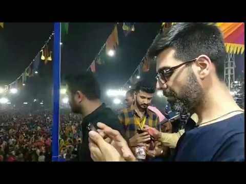 Sachin Jigar at United Way Morlo Ambe bole 2017 @Vadodara