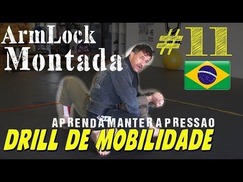 O Segredo da Pressão no Arm Lock da Montada