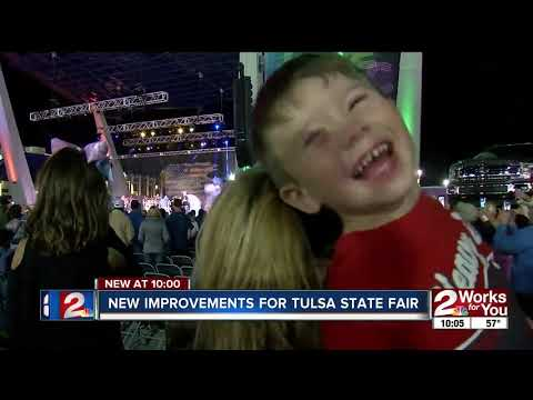 New improvements for Tulsa State Fair