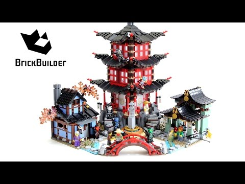 Lego Ninjago 70751 Temple Of Airjitzu Lego Speed Build Youtube