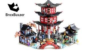 Lego Ninjago 70751 Temple of Airjitzu - Lego Speed build
