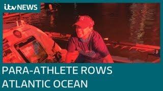 Para athlete rows solo across the Atlantic Ocean ITV News