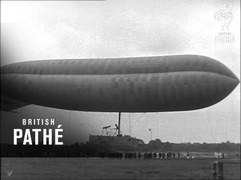 Airship Astra Torres Lifting (1910-1919)