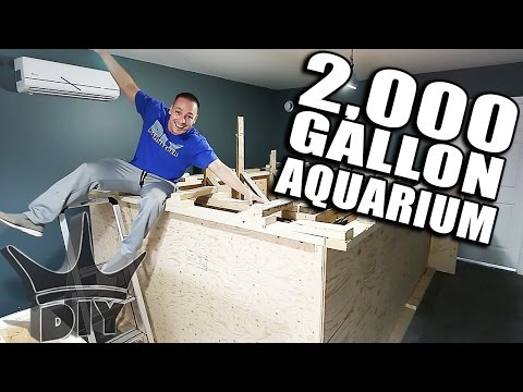 MY 2,000 GALLON AQUARIUM!!