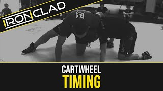 HOW TO CARTWHEEL iฑ WRESTLING (TIMING)