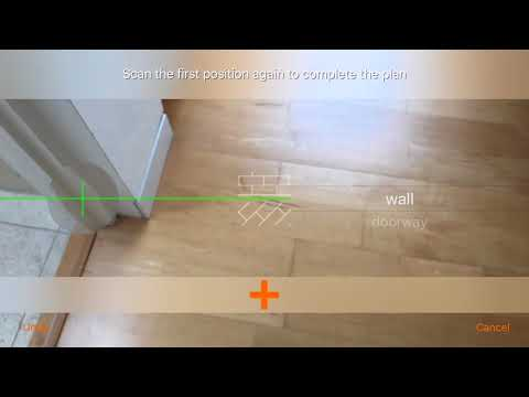RoomScan Augmented Reality Scanning