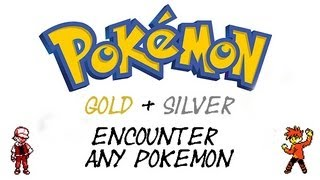 Pokemon Gold and Silver - How To Find Every Pokemon | GameShark Codes