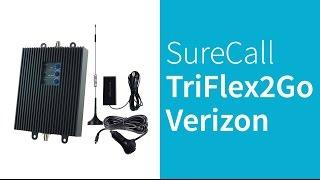 Surecall TriFlex2Go-V 4G LTE Verizon Cell Phone Signal Booster
