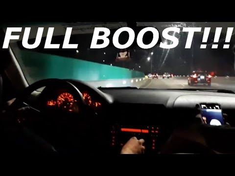 TURBO E46 MAKES FULL BOOST!